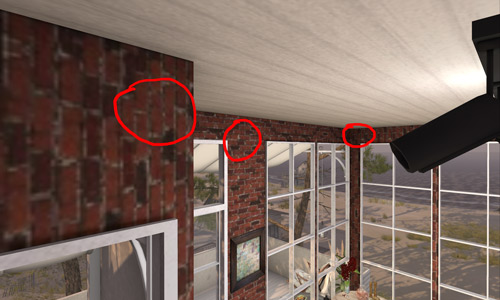 Brick pattern Lagom