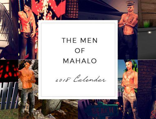 The Men Of Mahalo Calendar 2018