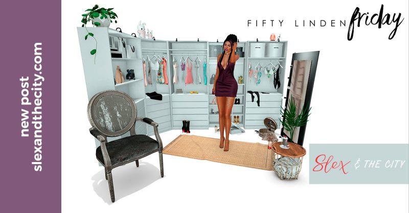 Second Life Fifty Linden Fridays Haul 12/01/2018