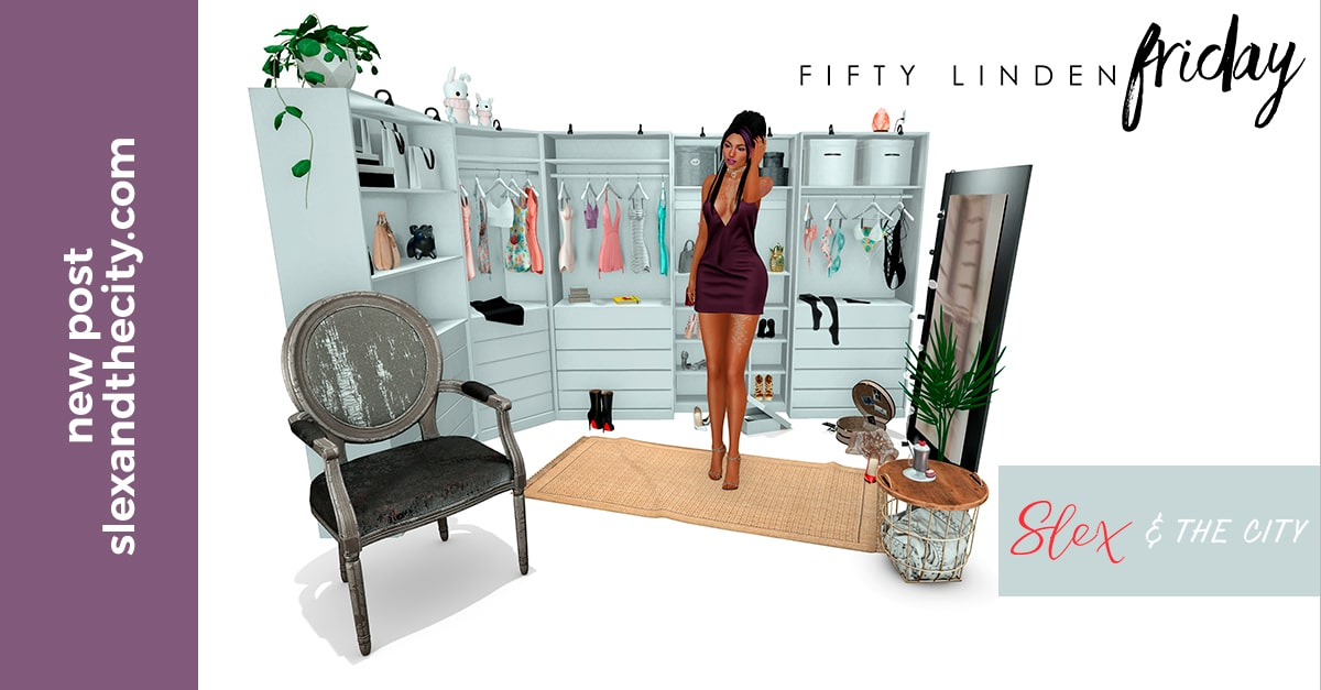 Second Life Fifty Linden Fridays Haul 12/01/2018
