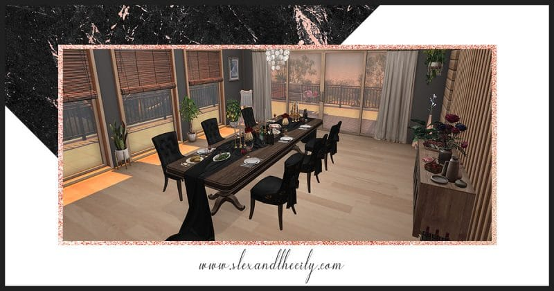 Past vs. Present at 6Republic Second Life Decor and Landscaping Event