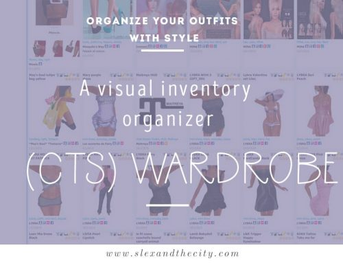 (CTS) Wardrobe, where have you been all my Second Life?