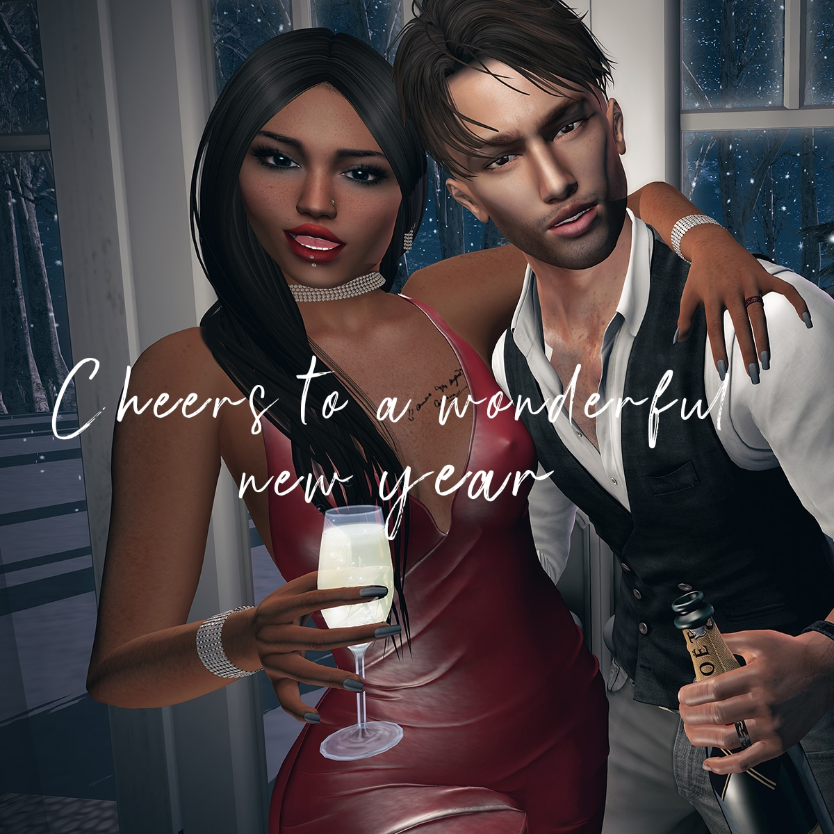 Happy Second Life New Year 2020