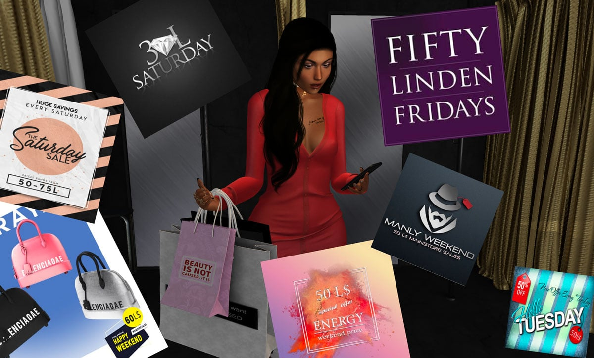 What do you think of SecondLife Sales Events?