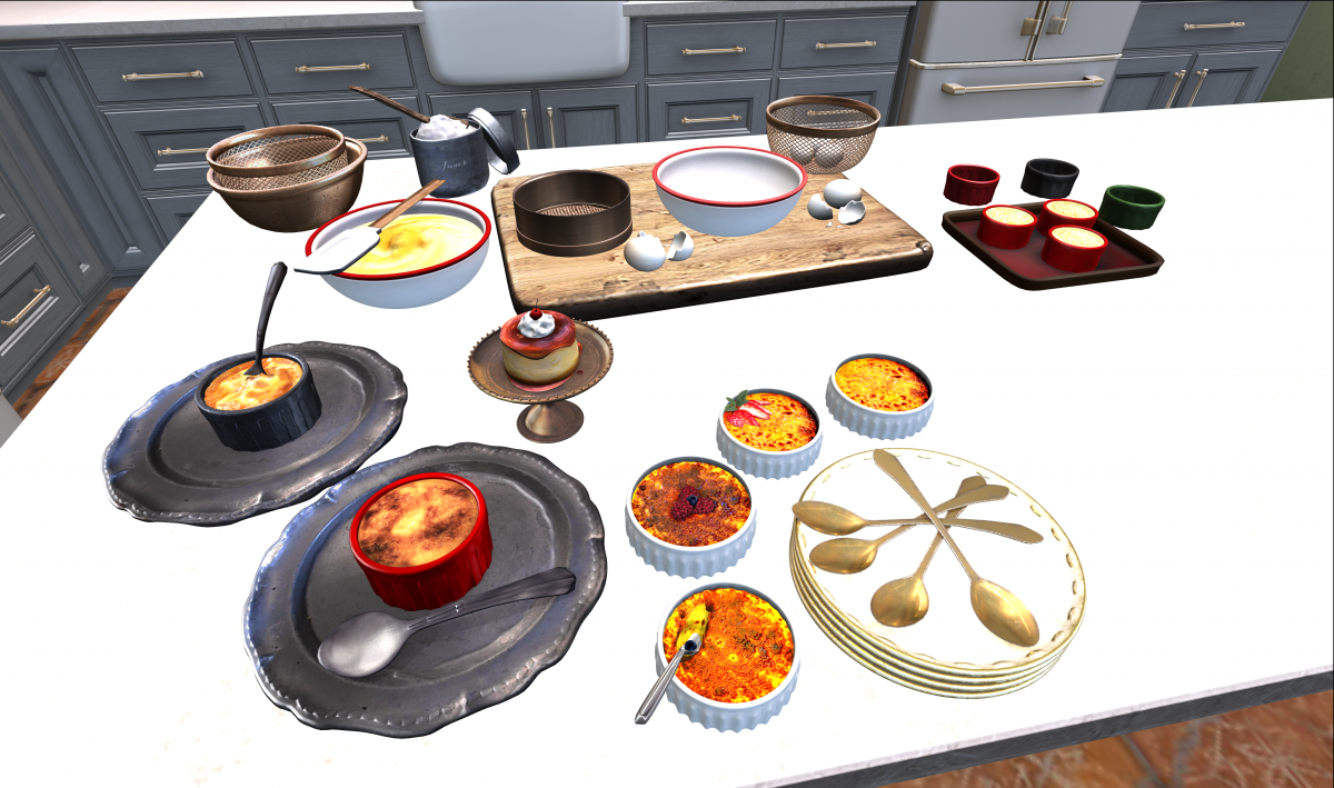 Second Life Food and Drinks Dispensers