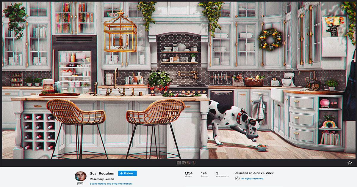Best kitchen in Second Life